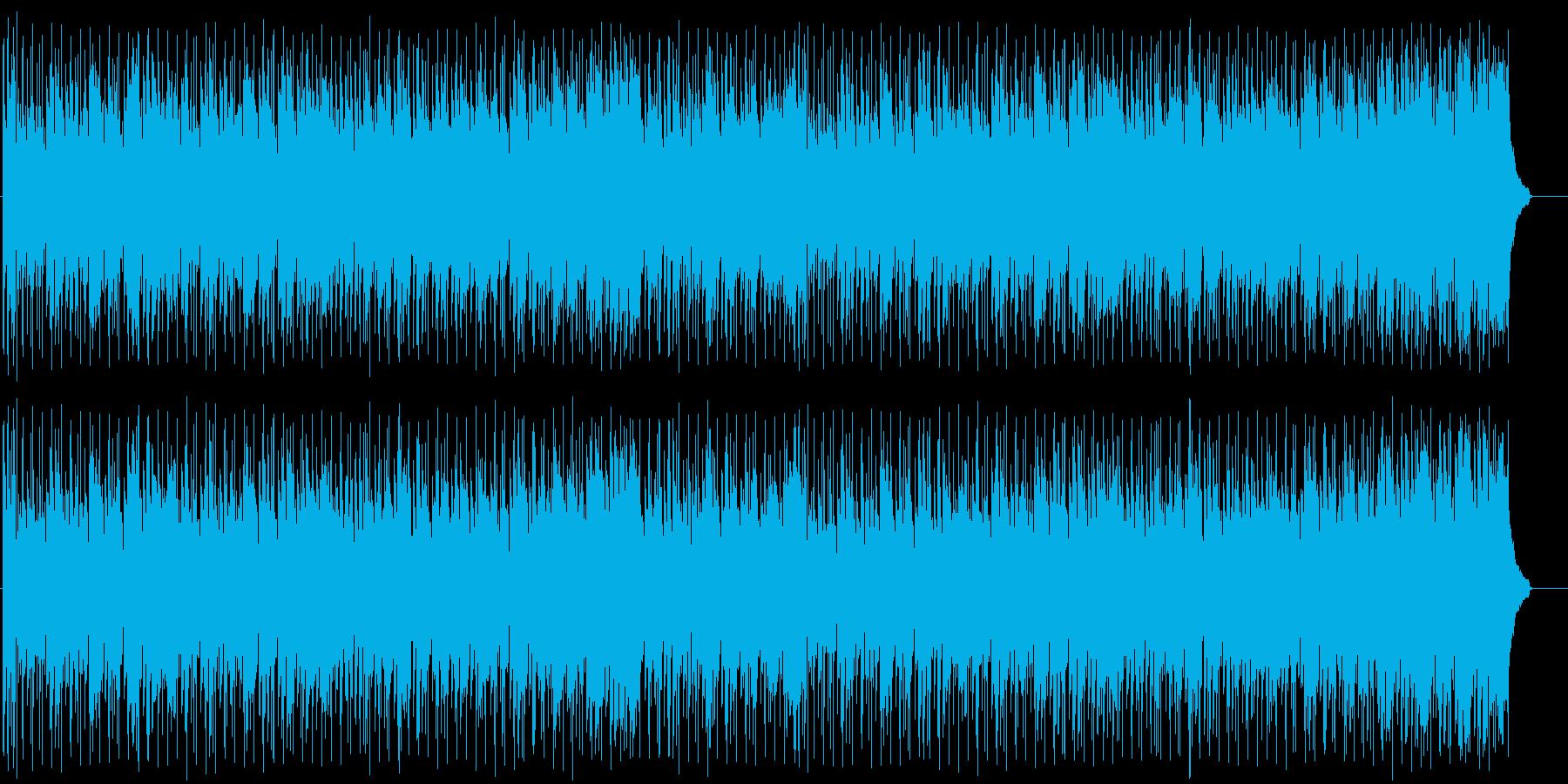夢に向かう前向きポップ(フルサイズ)の再生済みの波形