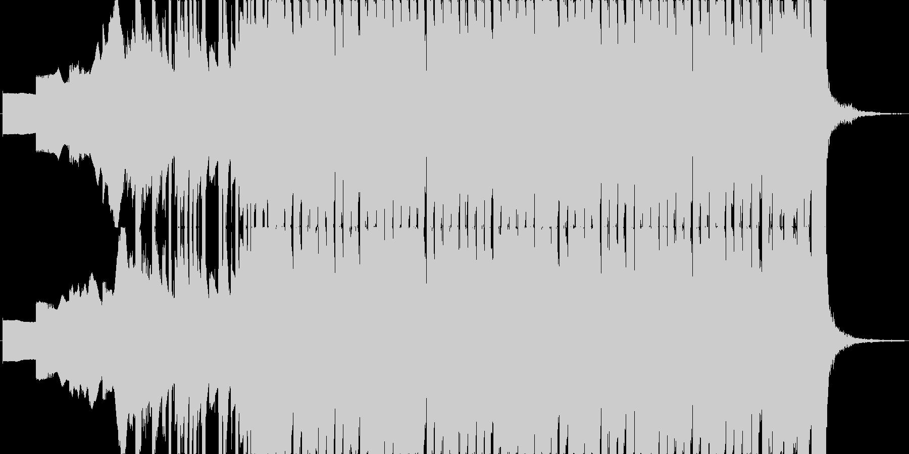 ファミコン風のオープニング・入場BGMの未再生の波形