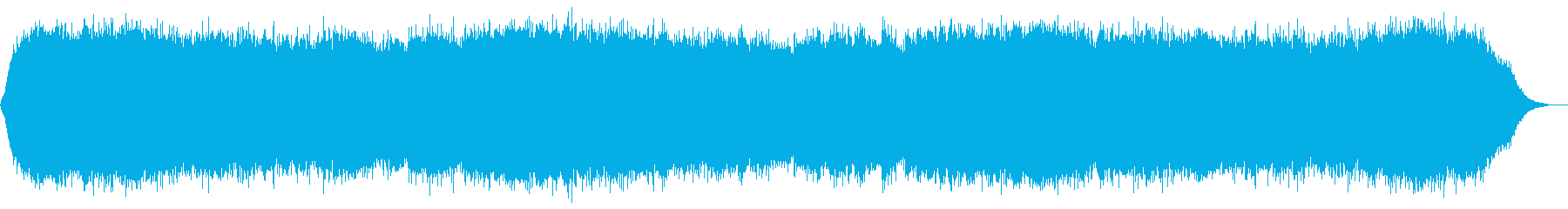 α波を促す癒しのヒーリングの再生済みの波形