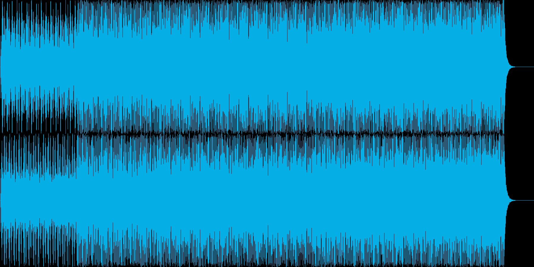チルアウト系BGMの再生済みの波形