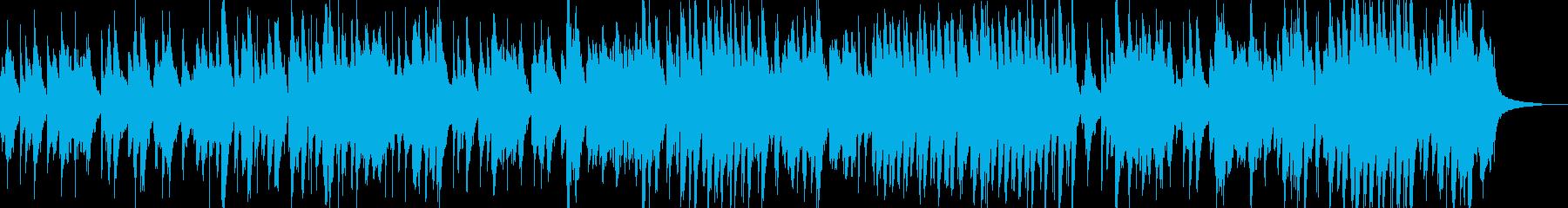 ピアノトリオJAZZの再生済みの波形