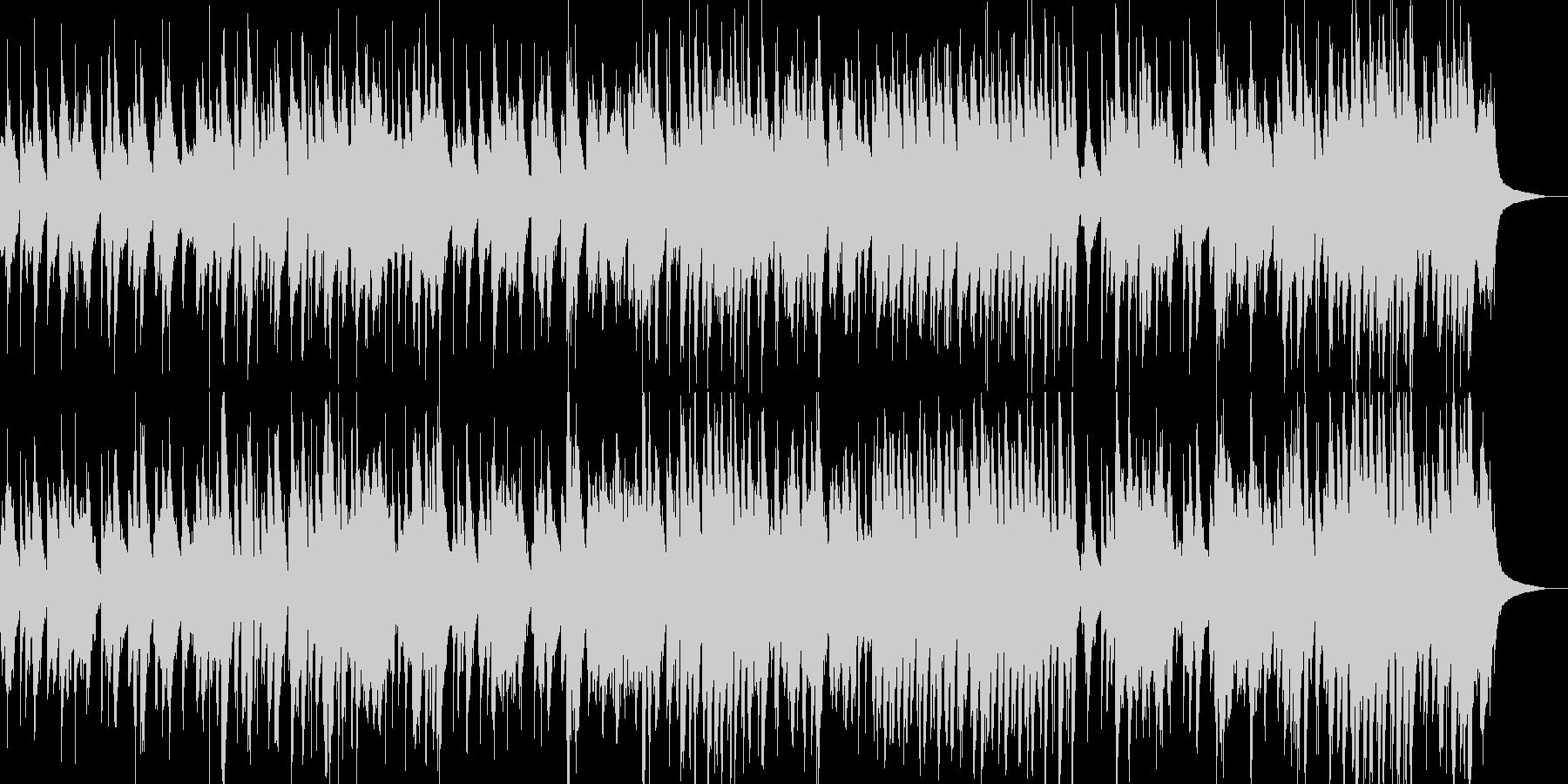 ピアノトリオJAZZの未再生の波形