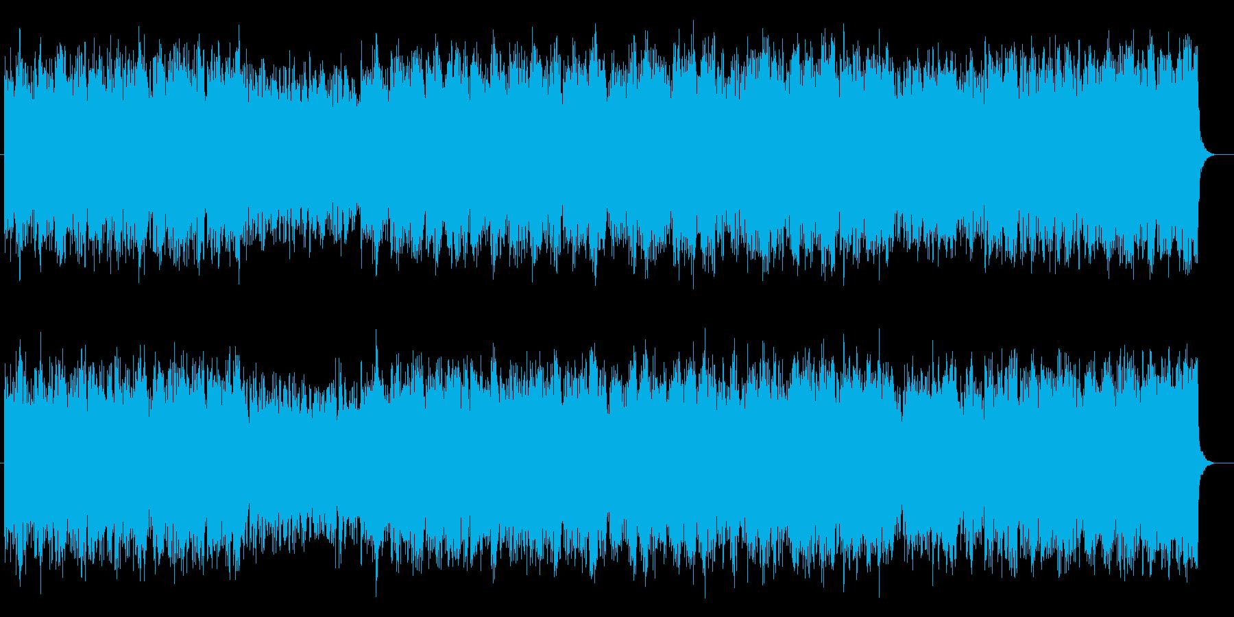 明るく前向きなオーケストラのBGMの再生済みの波形