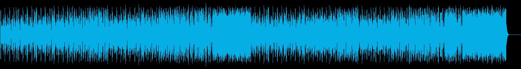 軽妙なファンク ポップ(フルサイズ)の再生済みの波形