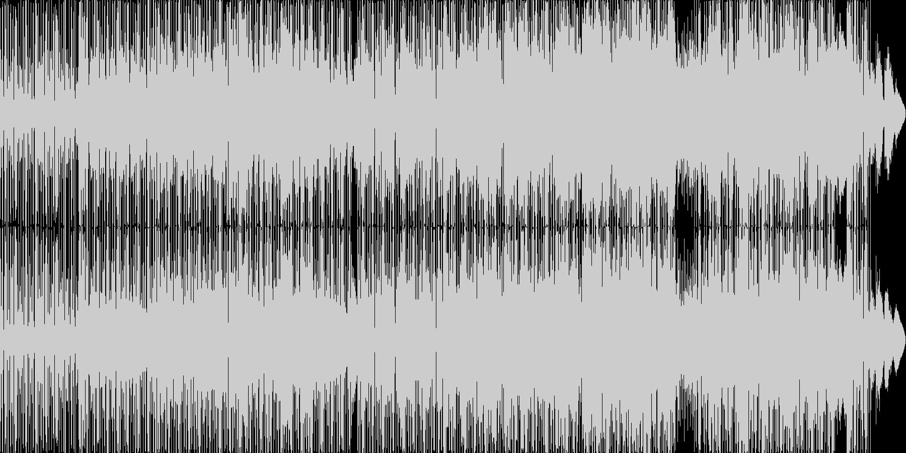 ヒップホップ風のリズムのR&Bバラード5の未再生の波形
