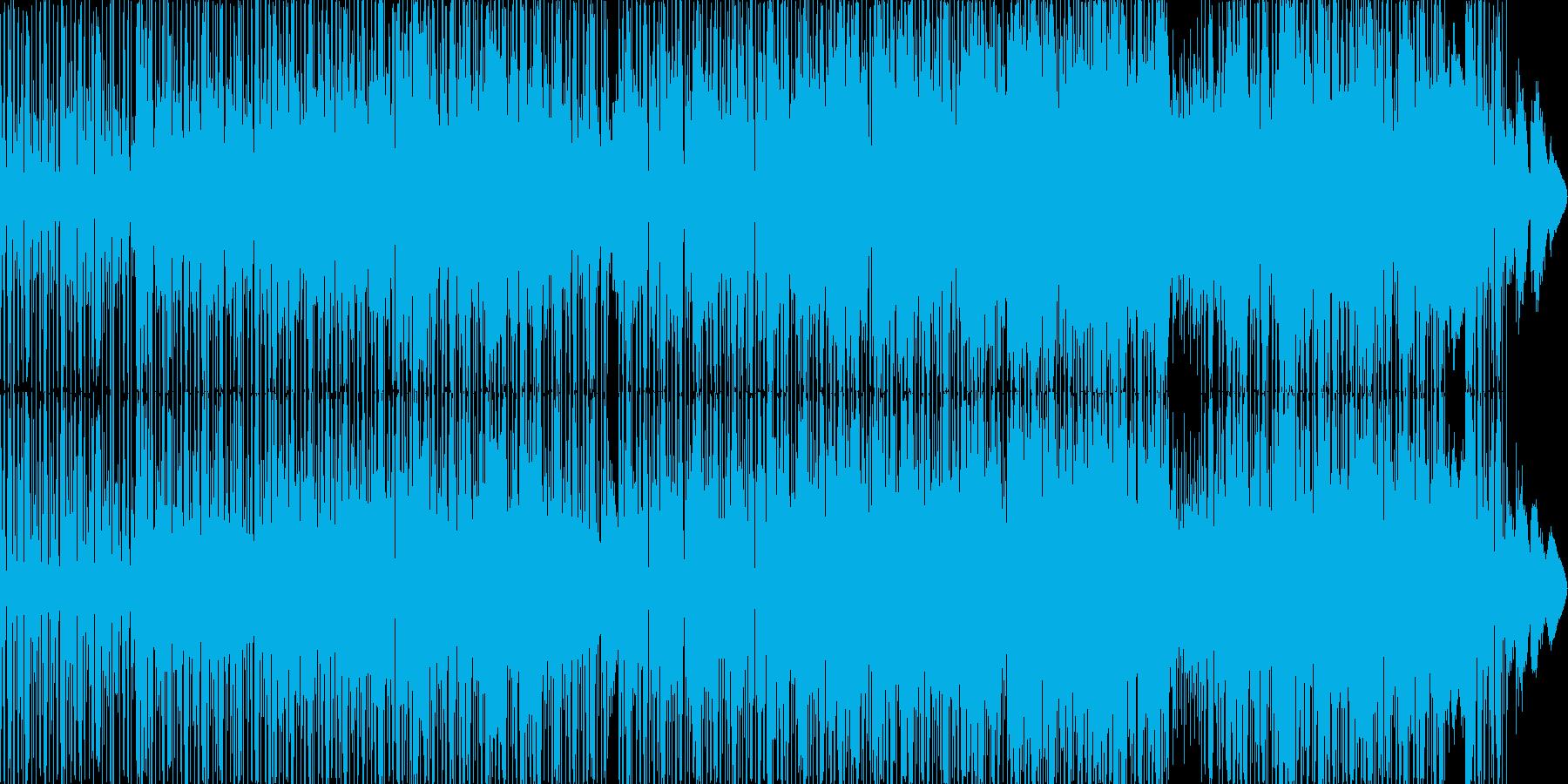ヒップホップ風のリズムのR&Bバラード5の再生済みの波形