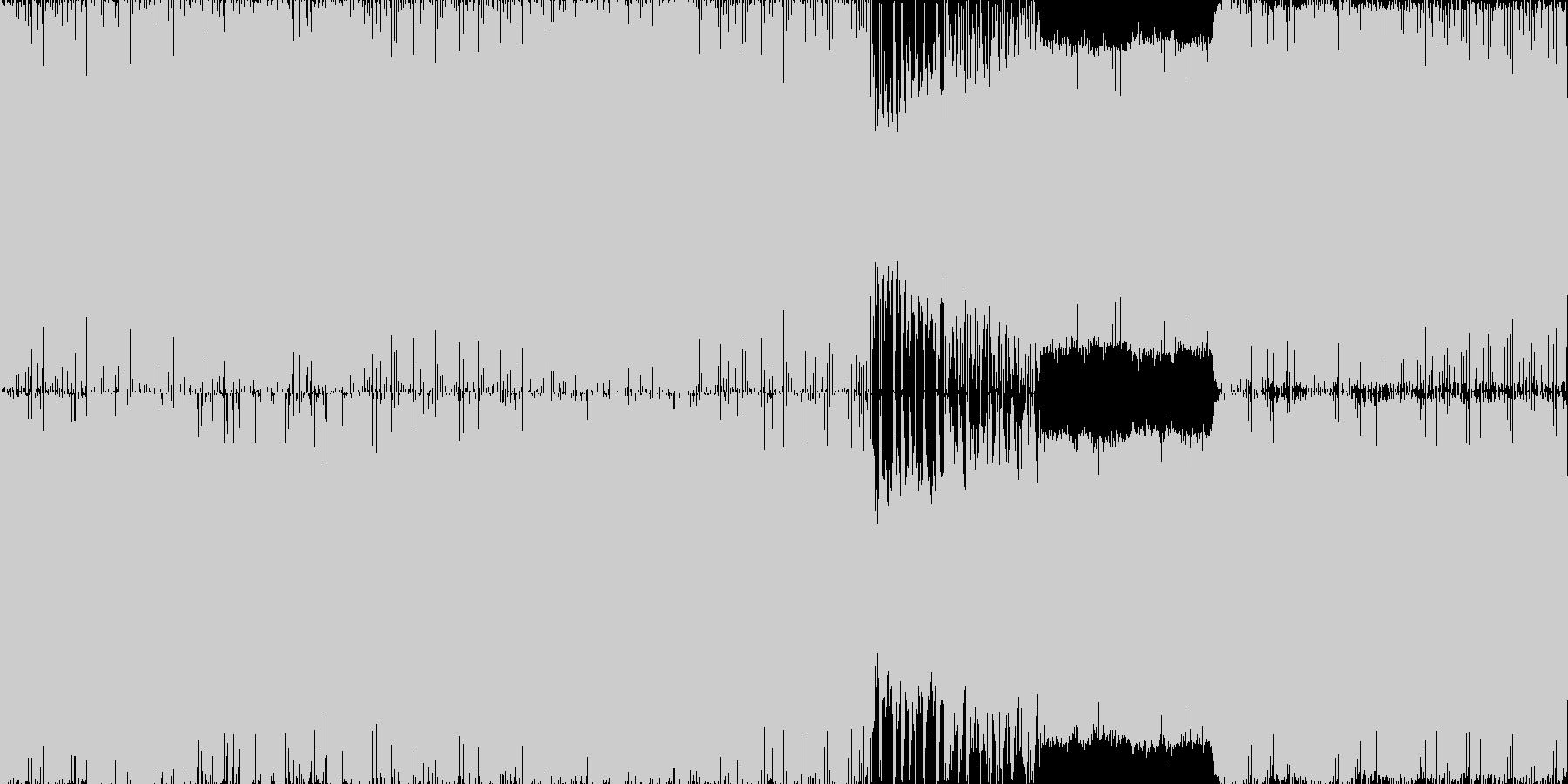 ファンタジーRPGでのボスバトル想定の…の未再生の波形