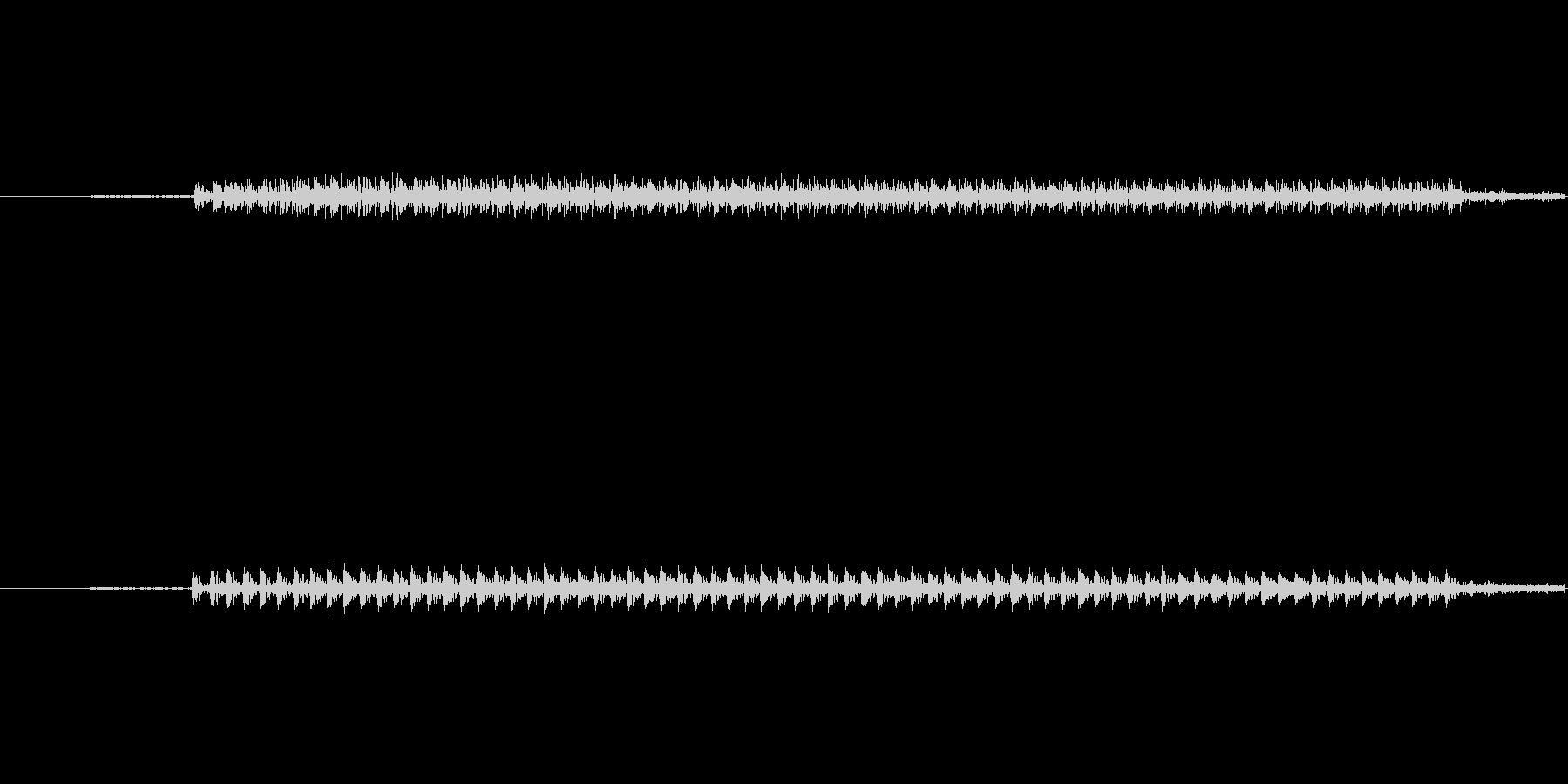 クイズ不正解1の未再生の波形