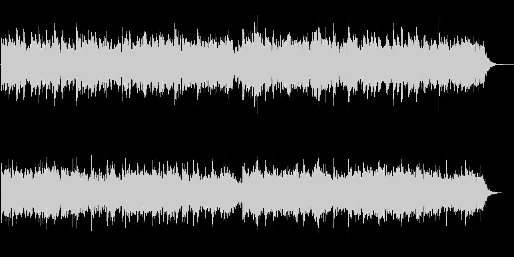 クワイアと古楽器のファンタジックな曲の未再生の波形