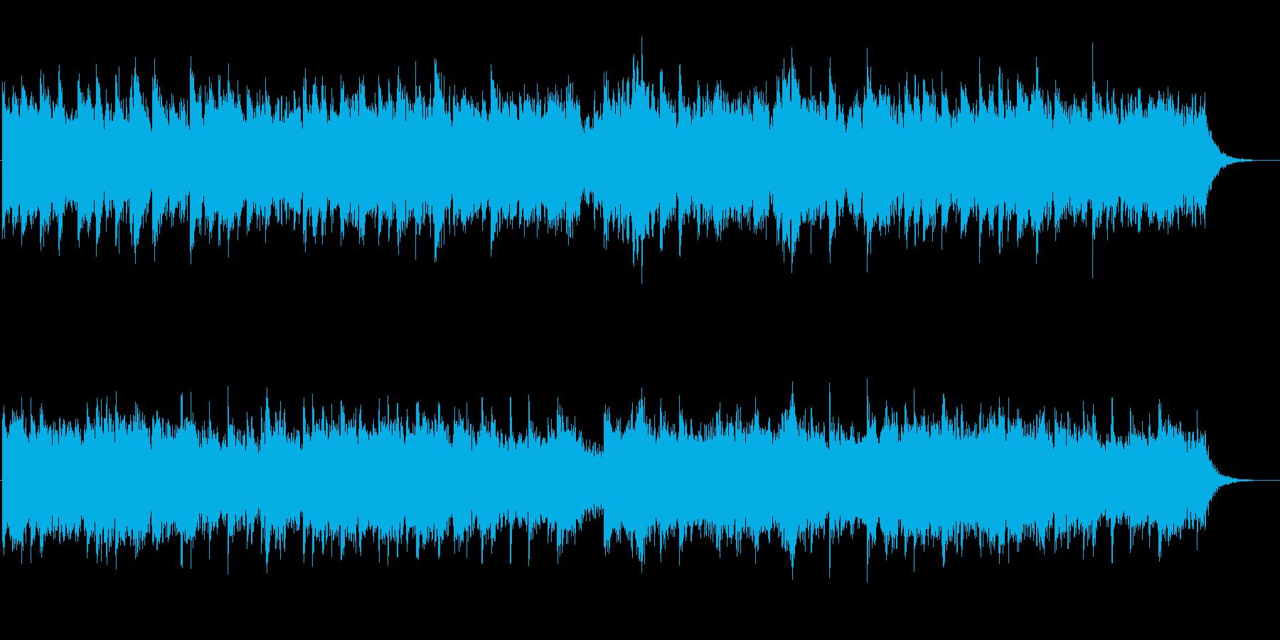 クワイアと古楽器のファンタジックな曲の再生済みの波形