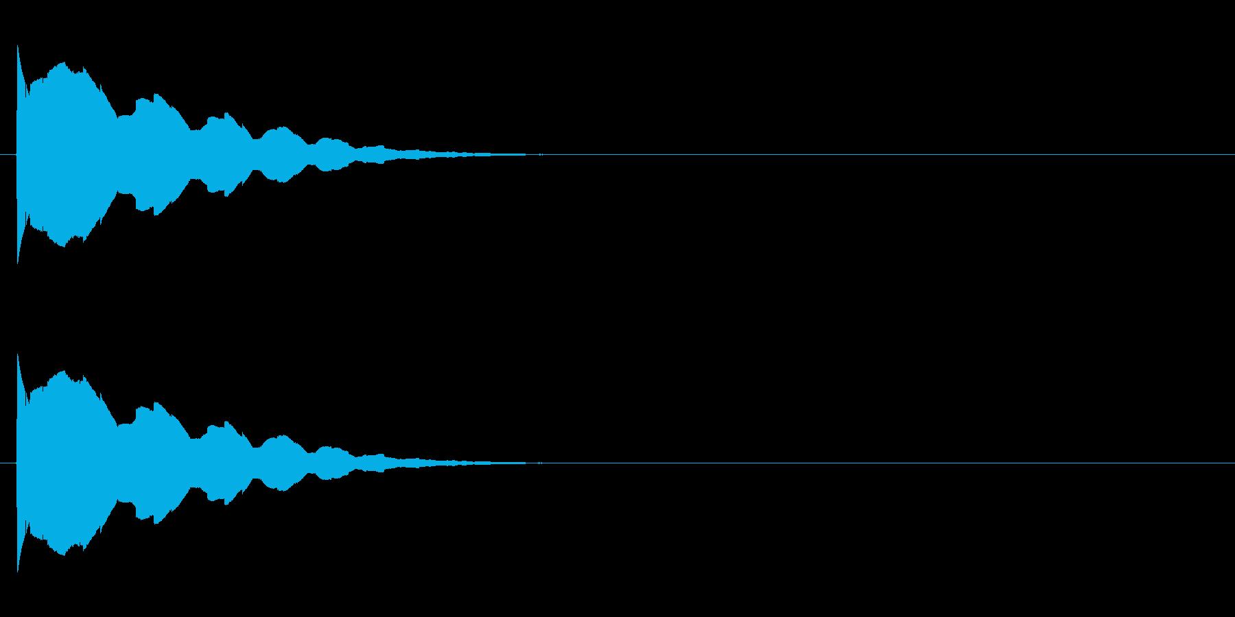 テュリリリリッ↑(場面転換、ころころ)の再生済みの波形