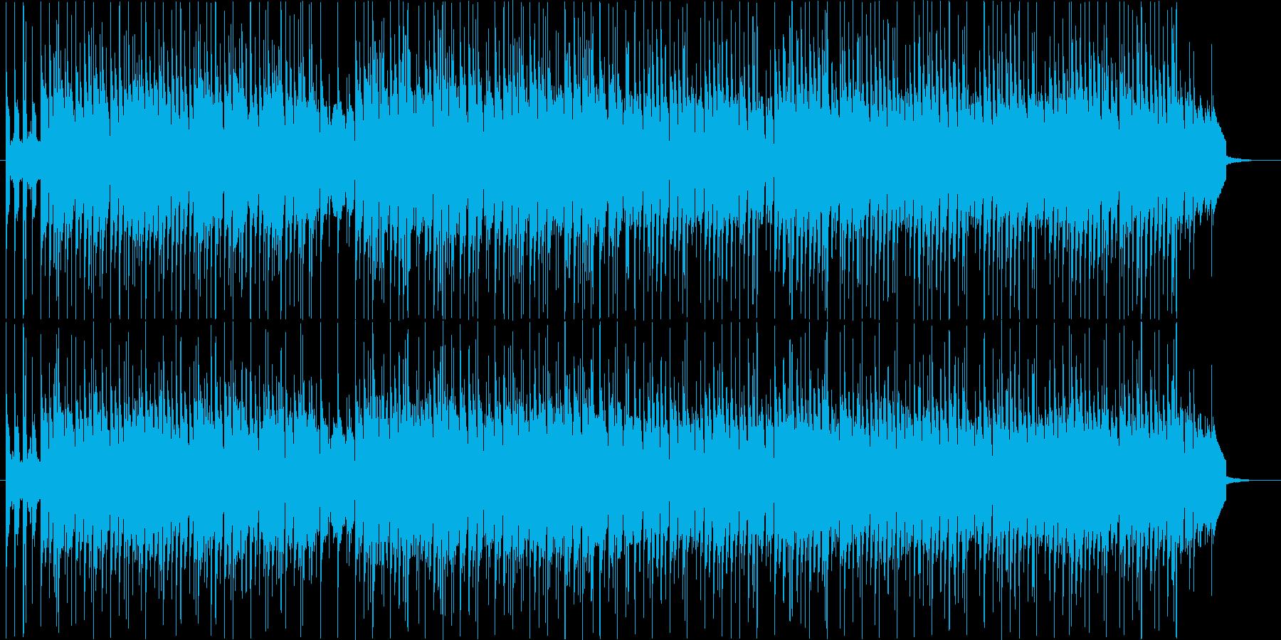 ほのぼの・日常・ほんわか・とぼけたBGMの再生済みの波形