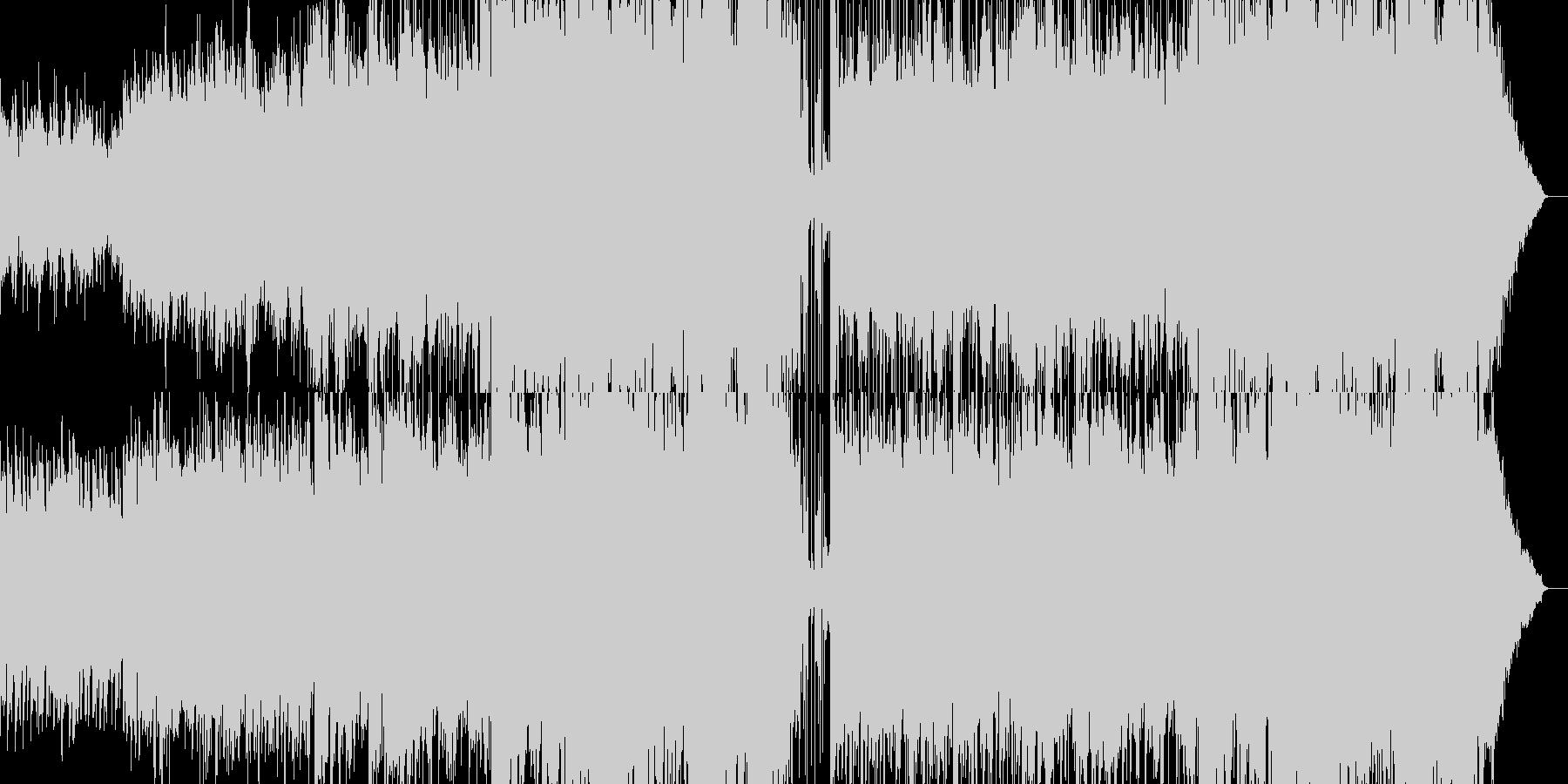 木管主旋律の短調バラードの未再生の波形