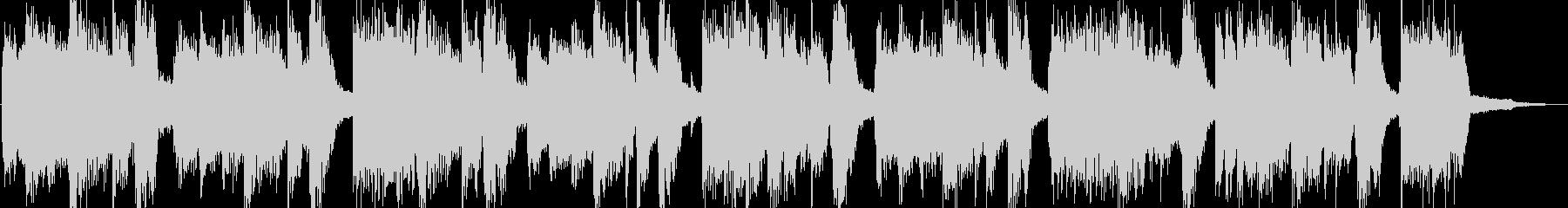 特徴的なリズムのロックジングルの未再生の波形