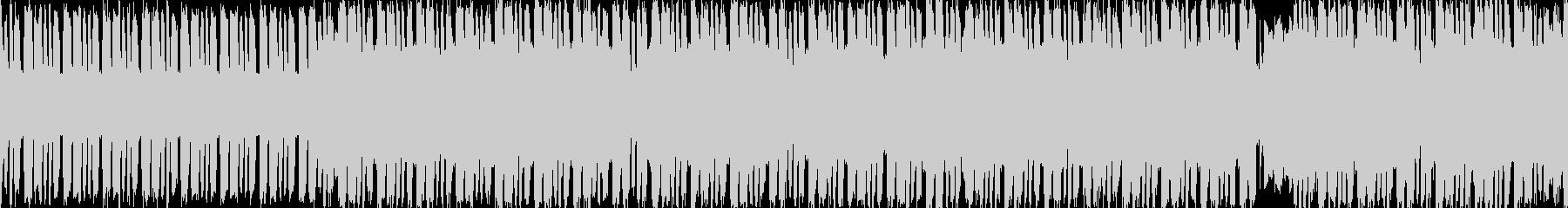 日常的なファミコンポップ【ループ素材】の未再生の波形