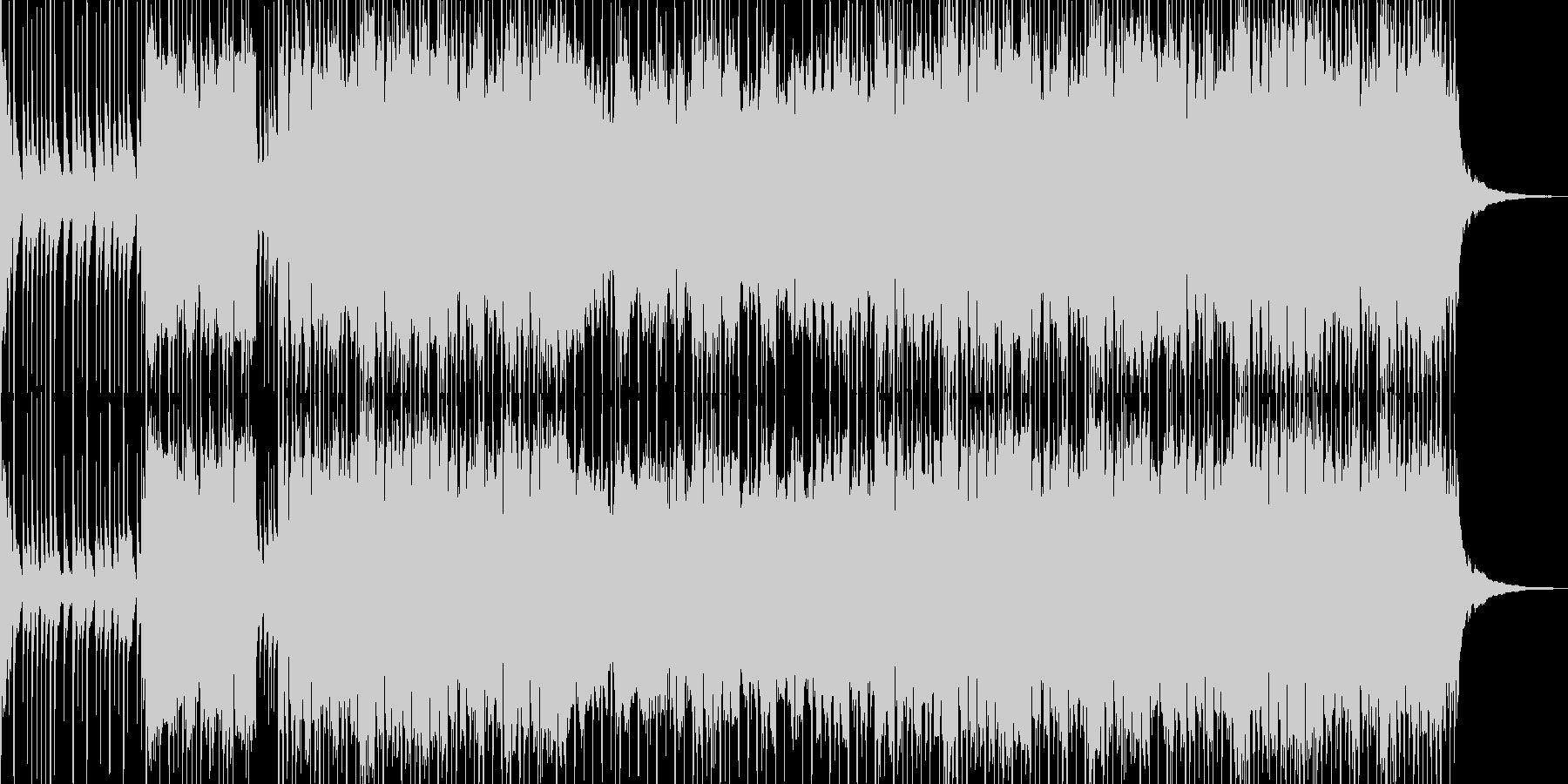 三味線・琴・尺八・和太鼓による和風EDMの未再生の波形