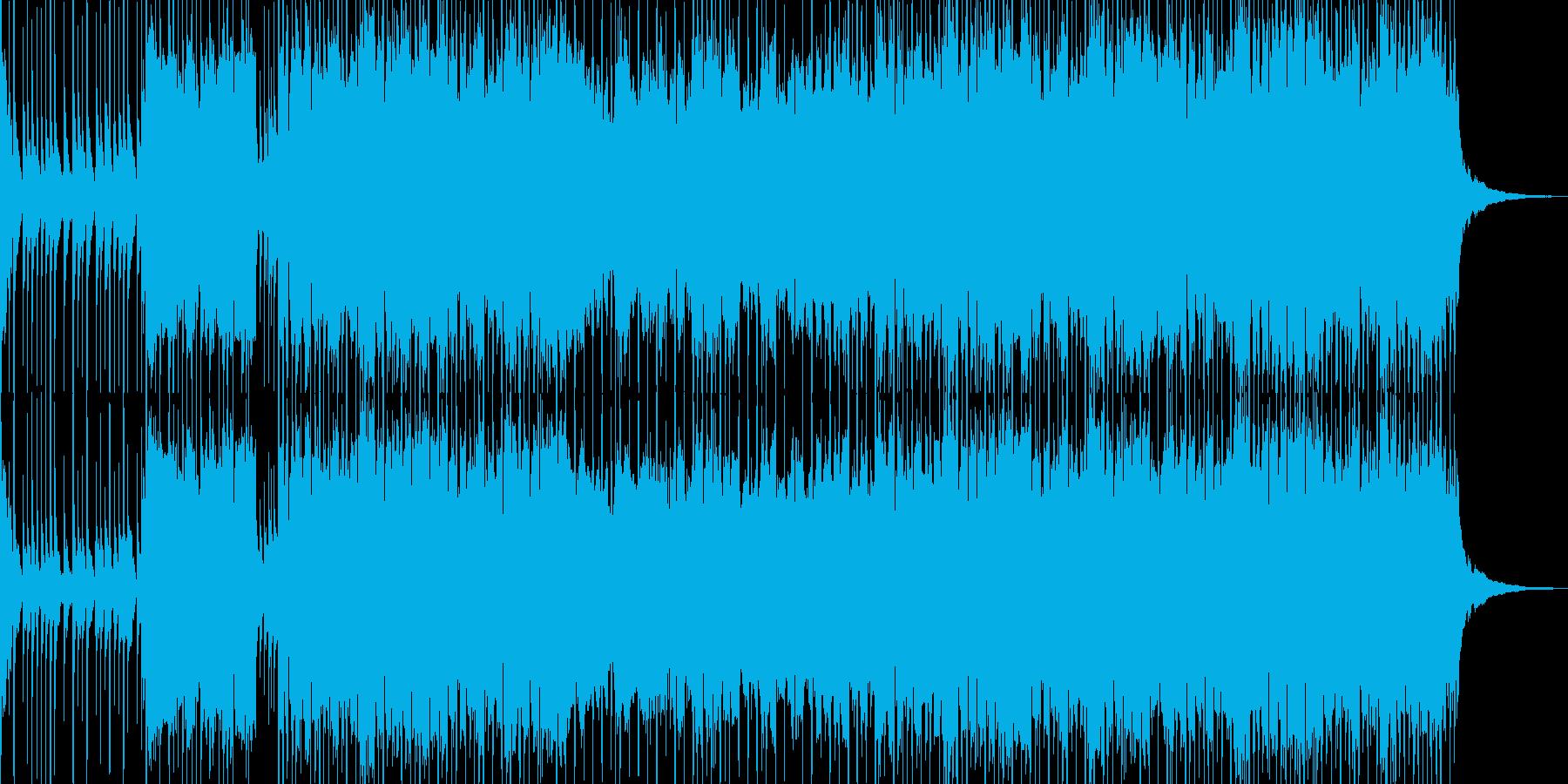 三味線・琴・尺八・和太鼓による和風EDMの再生済みの波形