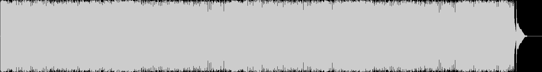 ムーディな三味線とジャジーなピアノの曲の未再生の波形