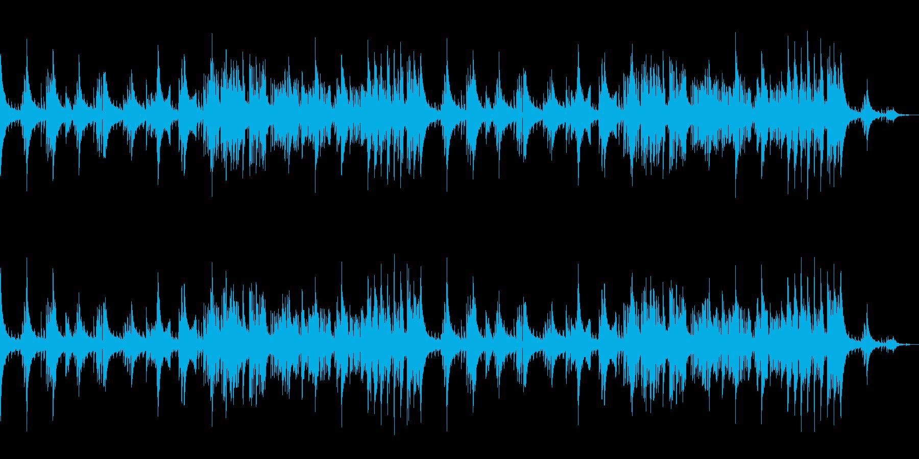 おしゃれなバーの雰囲気のジャズ楽曲の再生済みの波形