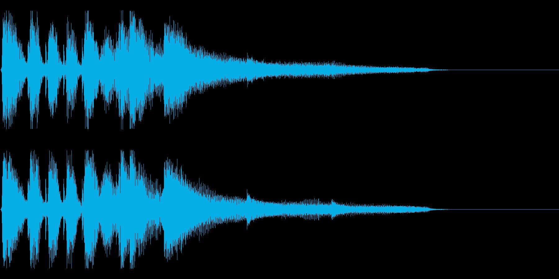 【月の無い夜2】の再生済みの波形