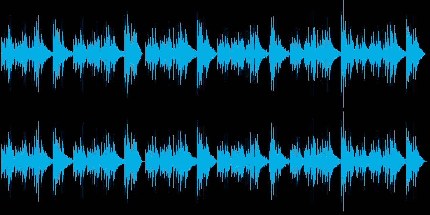 ハッピーバースデートゥーユー アコギ演奏の再生済みの波形