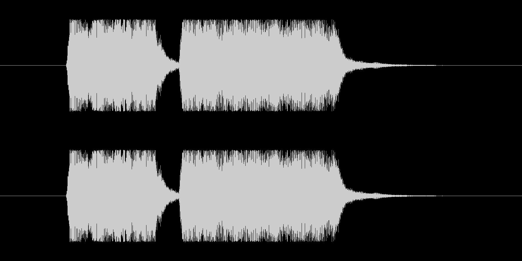 失敗02 タイプCの未再生の波形