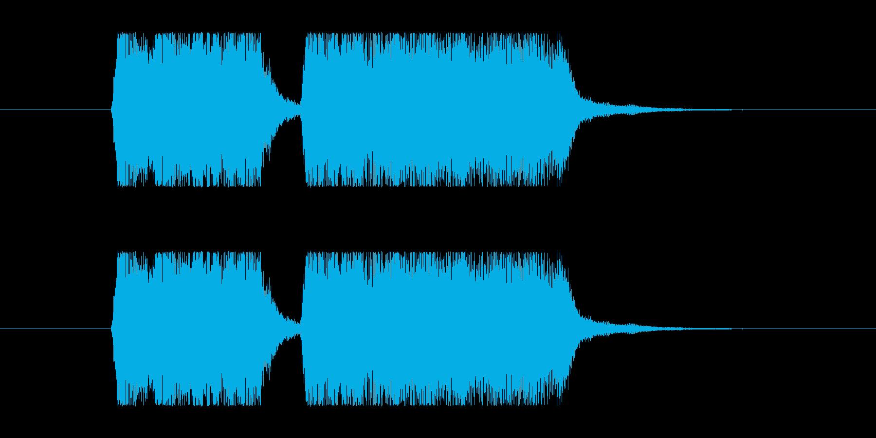 失敗02 タイプCの再生済みの波形