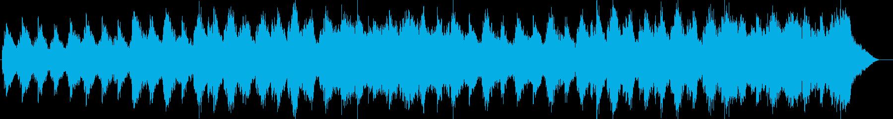 ピアノによる癒し系ミュージックの再生済みの波形