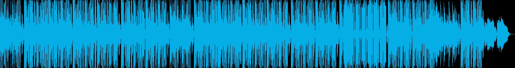 アジアン風味のほのぼのしたヒップホップの再生済みの波形