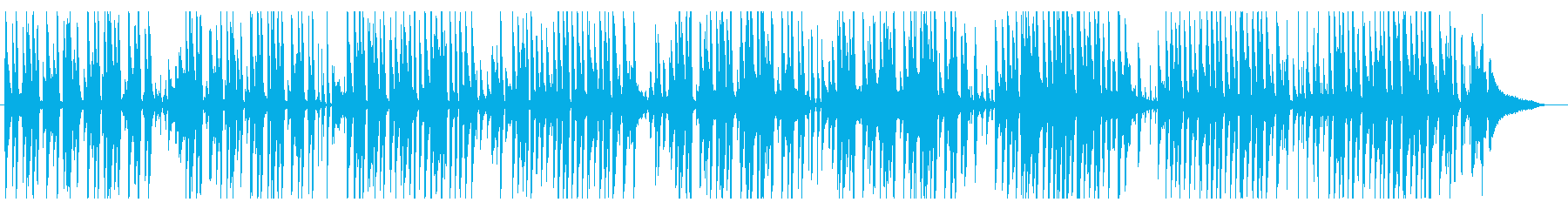 ビニールピアノジャズでおしゃれで爽やかの再生済みの波形