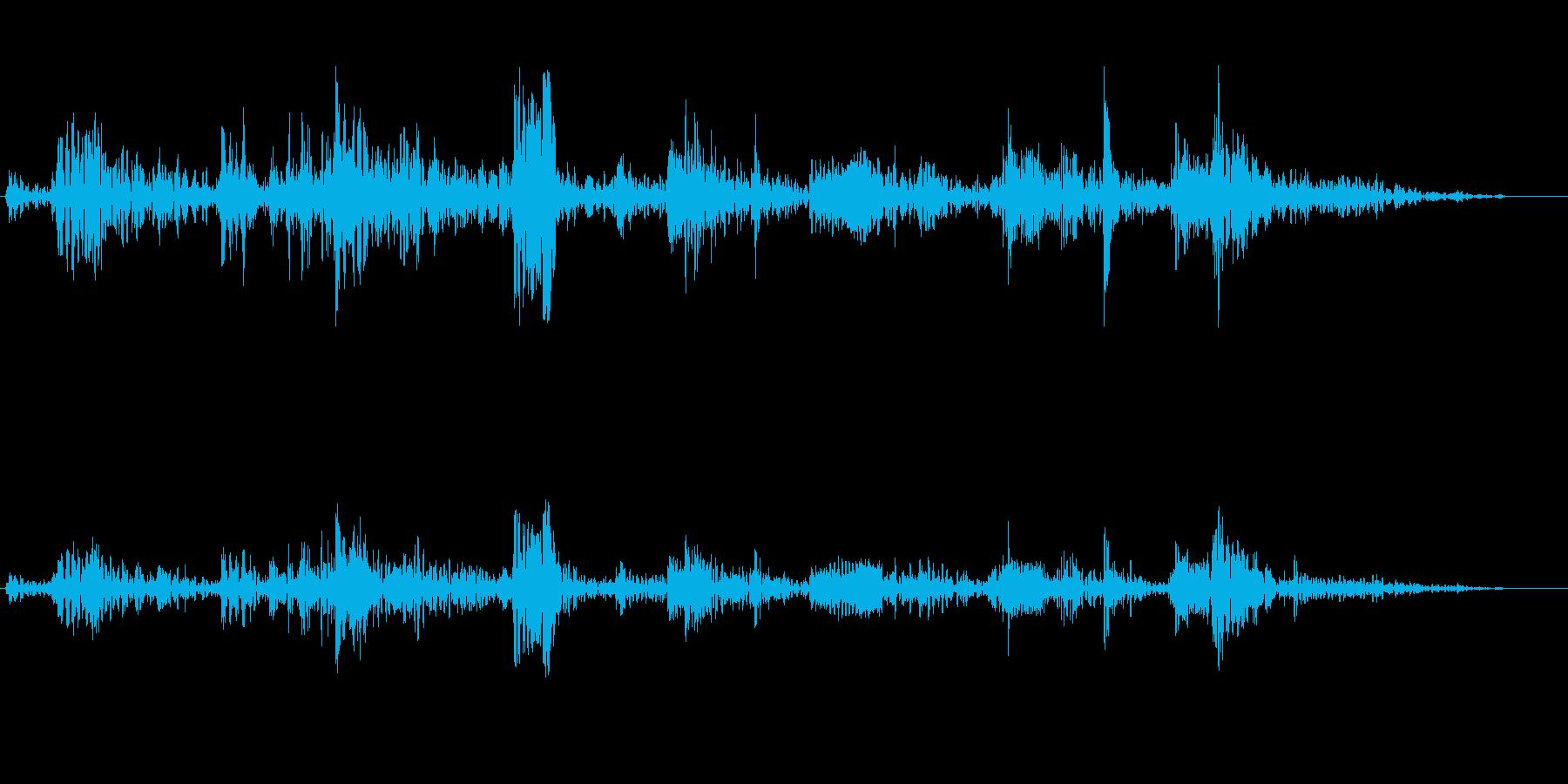 プクプク(潜水の音色)の再生済みの波形