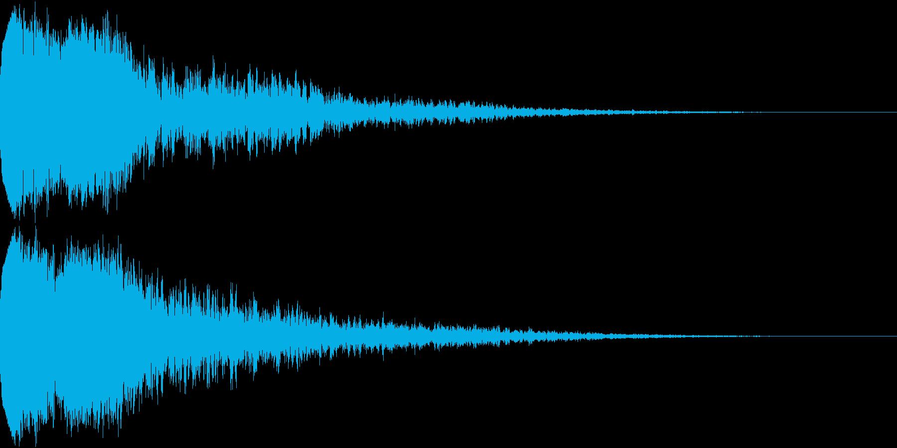 ピコン ピコ チャリン キュイン 4の再生済みの波形
