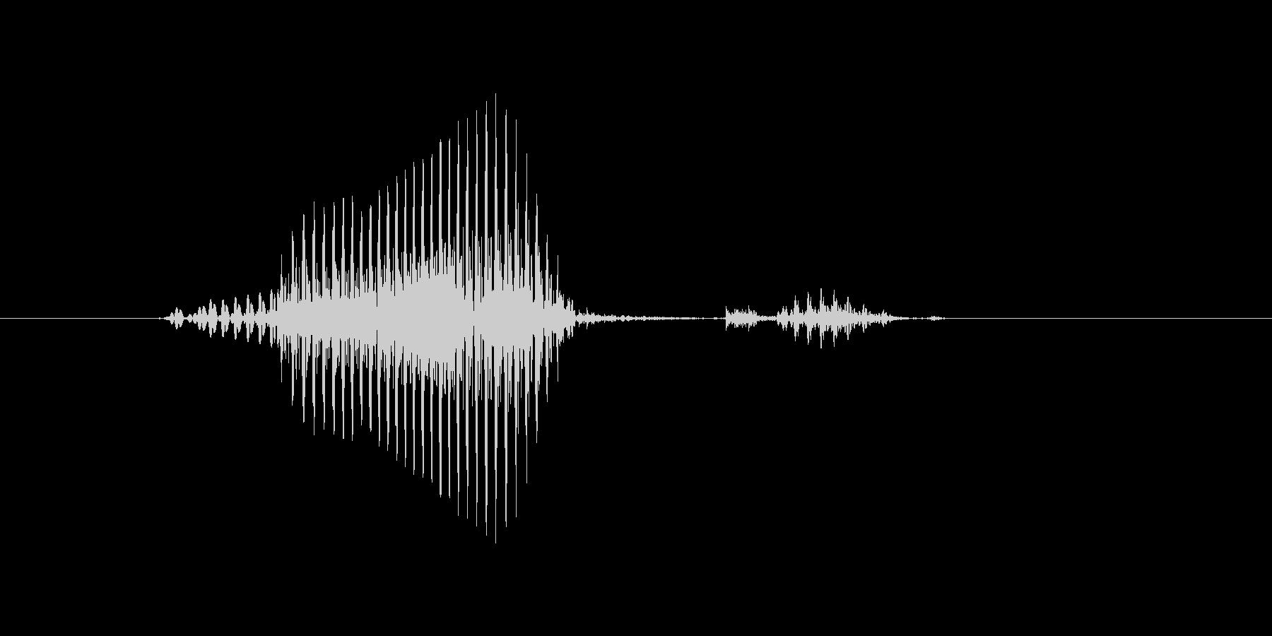 マークの未再生の波形