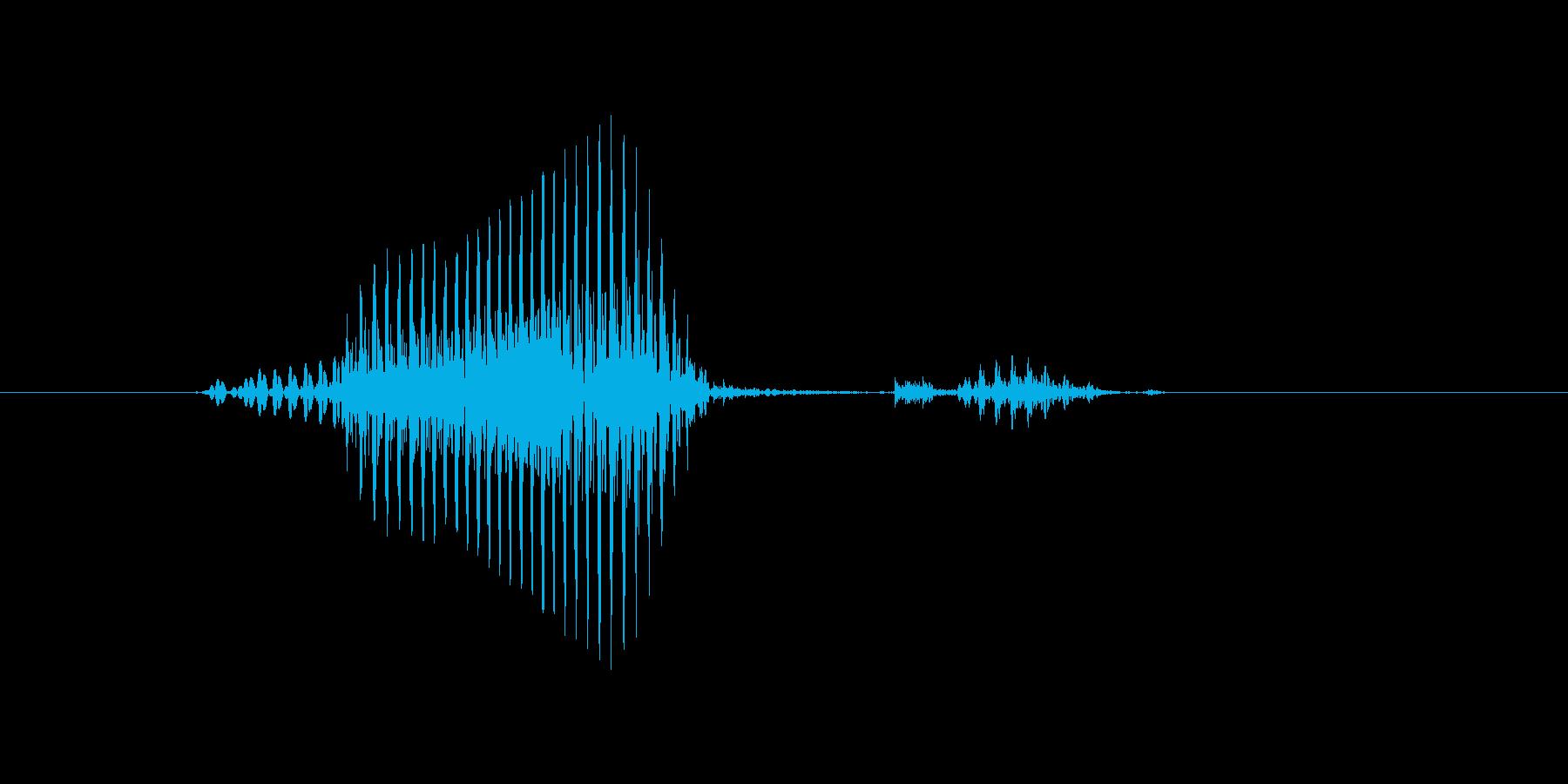 マークの再生済みの波形