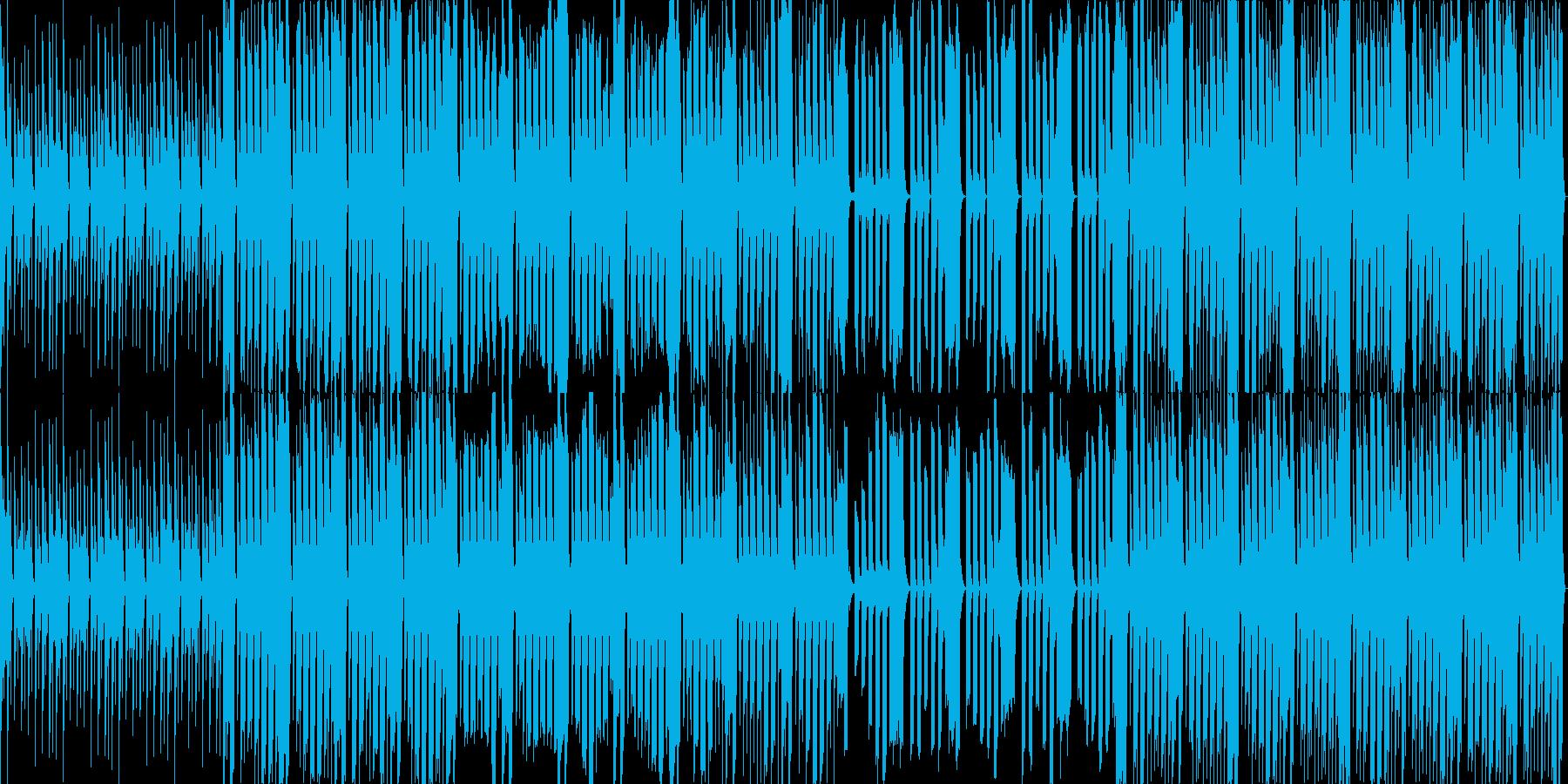 グルーヴ感が心地よいテクノの再生済みの波形