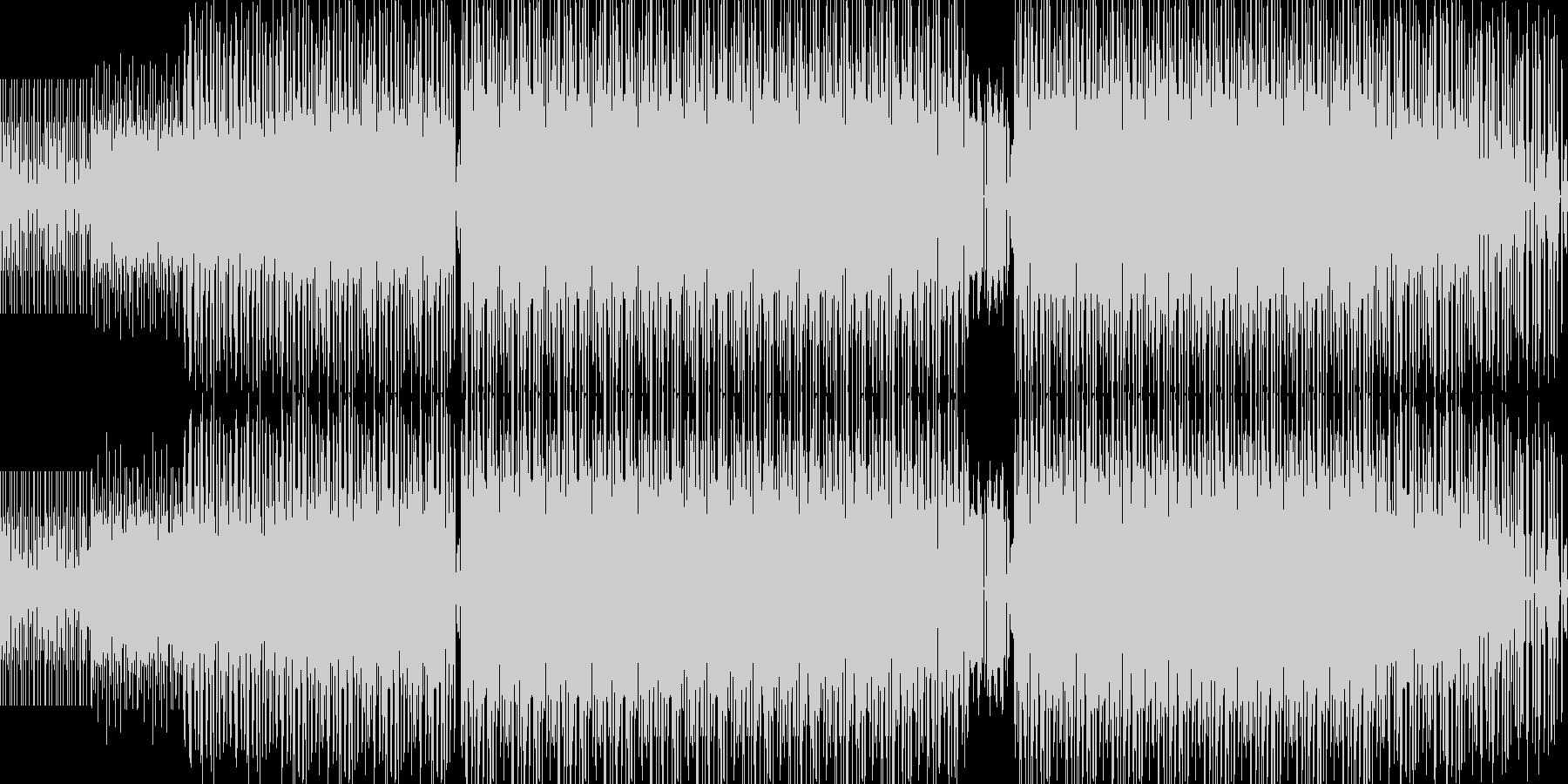 ニューレイブBGM(NuRave)の未再生の波形