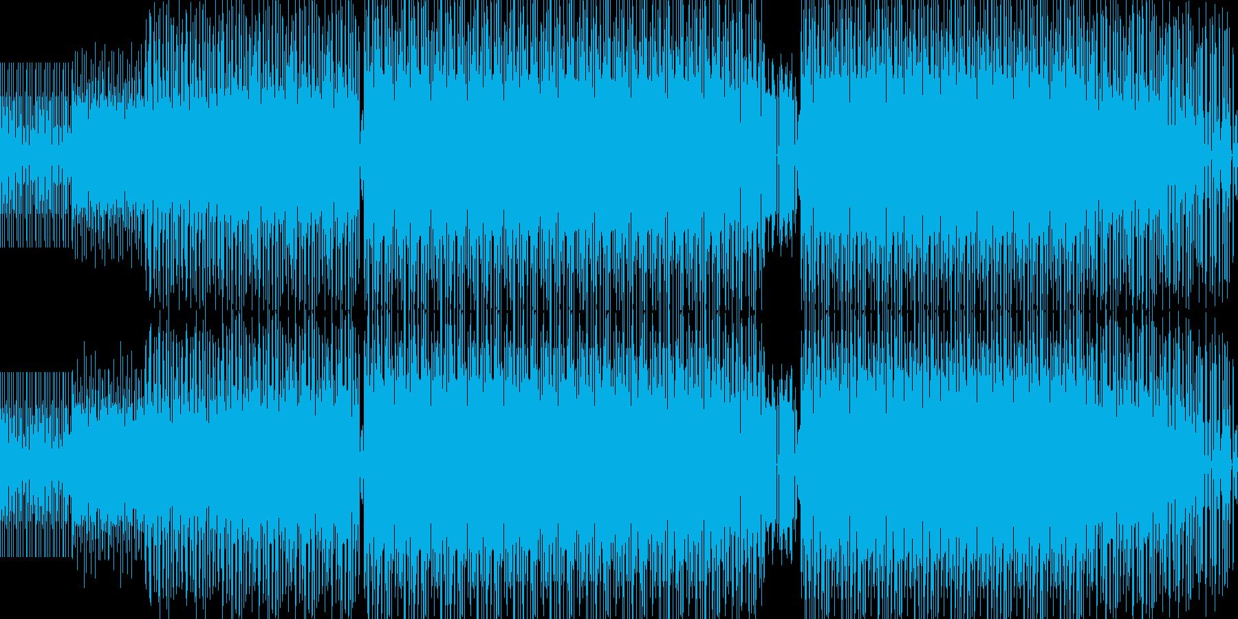 ニューレイブBGM(NuRave)の再生済みの波形