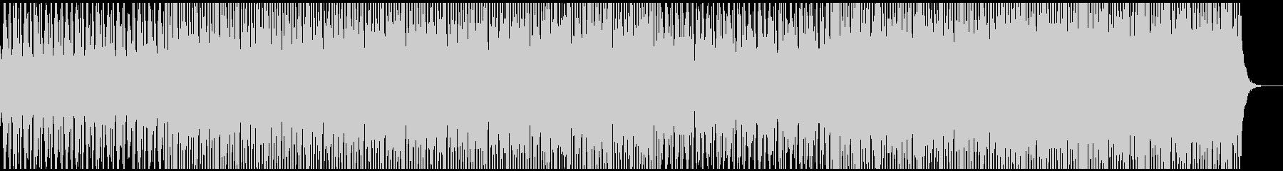 チルアウト系BGM(WAVファイル版)の未再生の波形