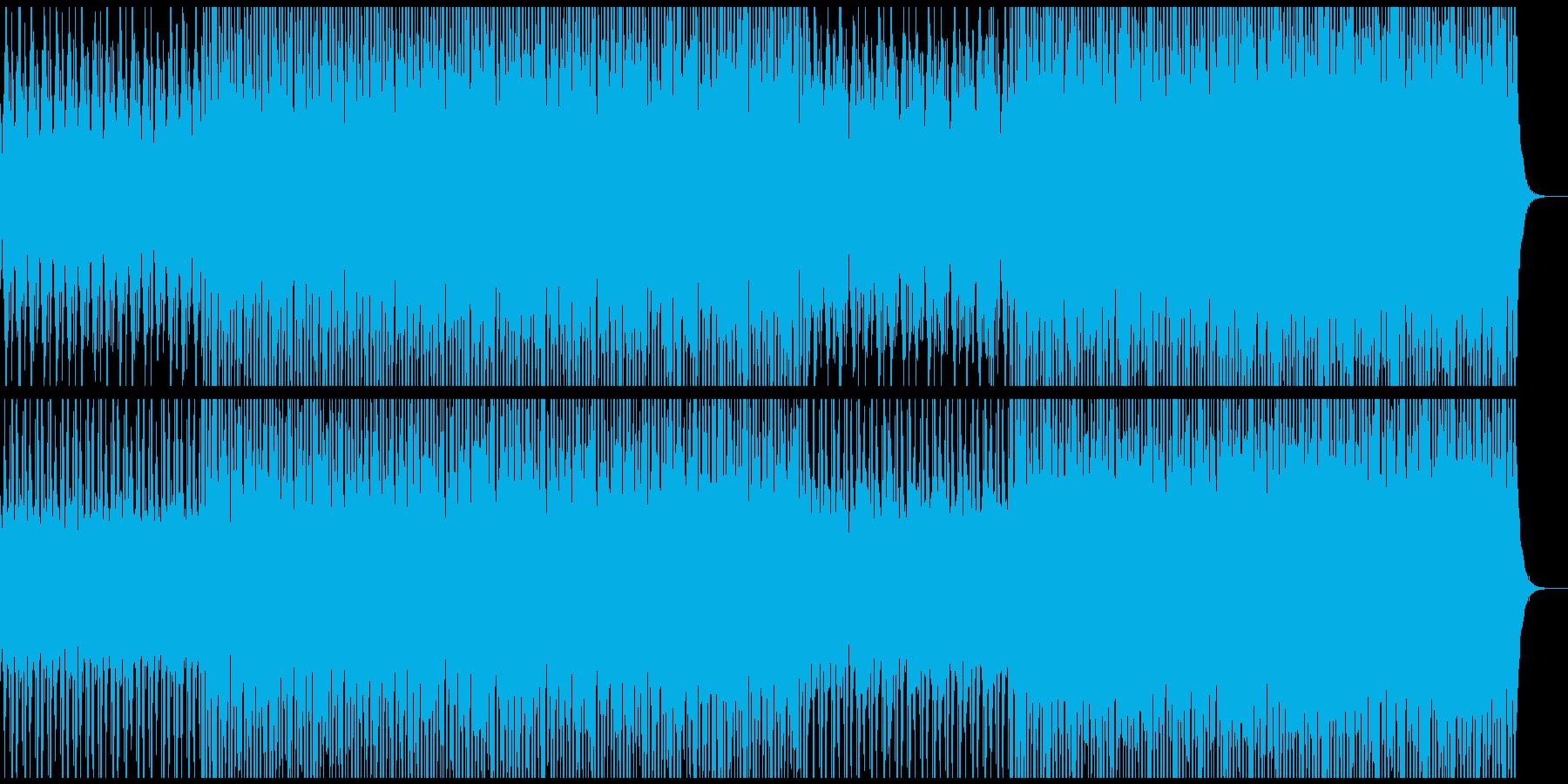 チルアウト系BGM(WAVファイル版)の再生済みの波形