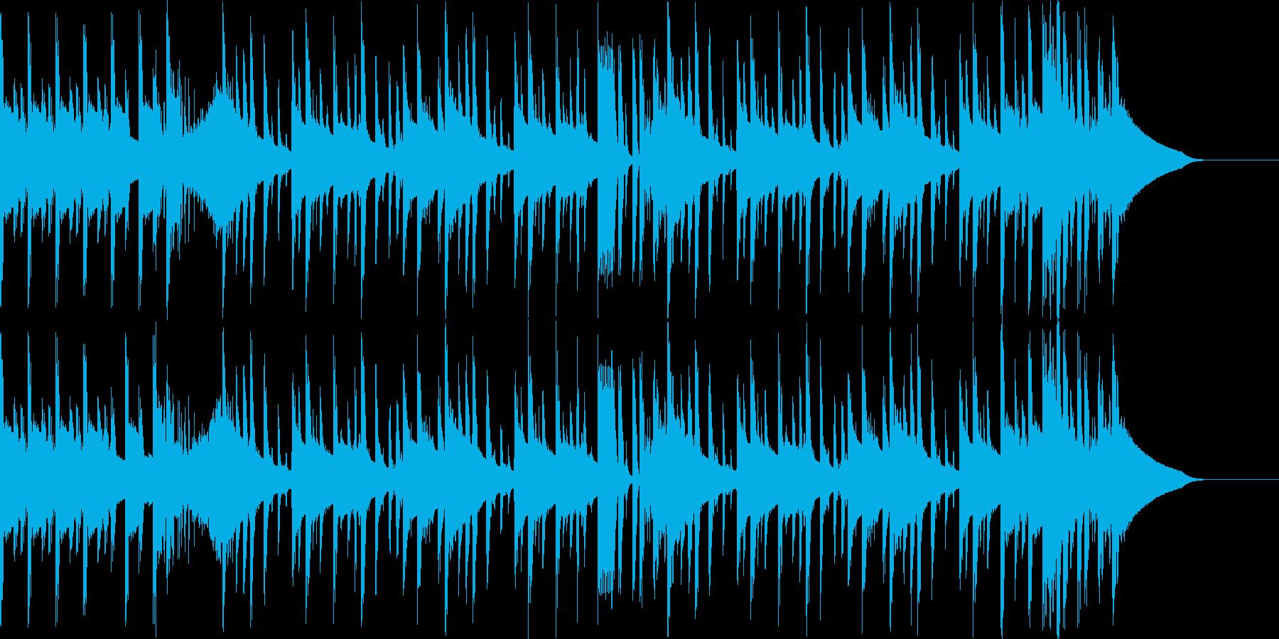 パワフルなヒップホップの再生済みの波形