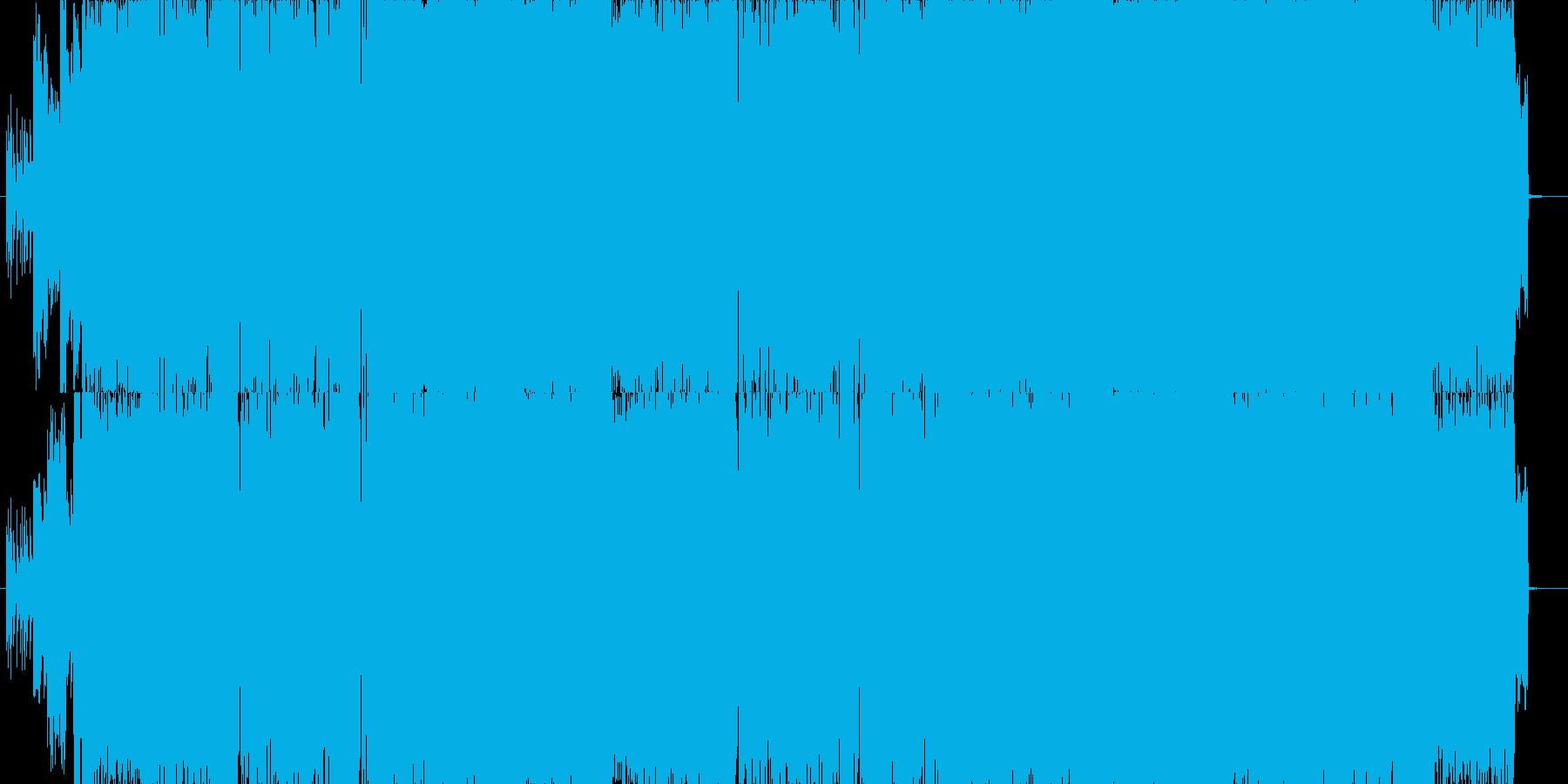 キュートな女性Vocalのメロコアの再生済みの波形