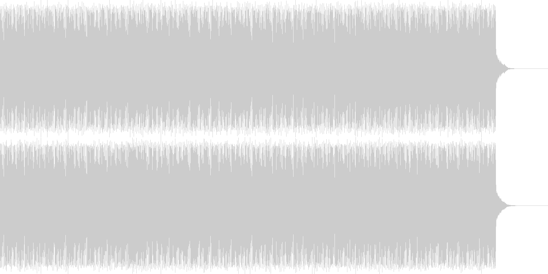 サイケデリックなリズムトラック2映像奇妙の未再生の波形