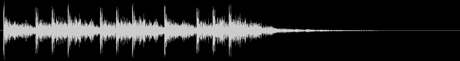 ティンパニのクリア 切替 場面転換音の未再生の波形