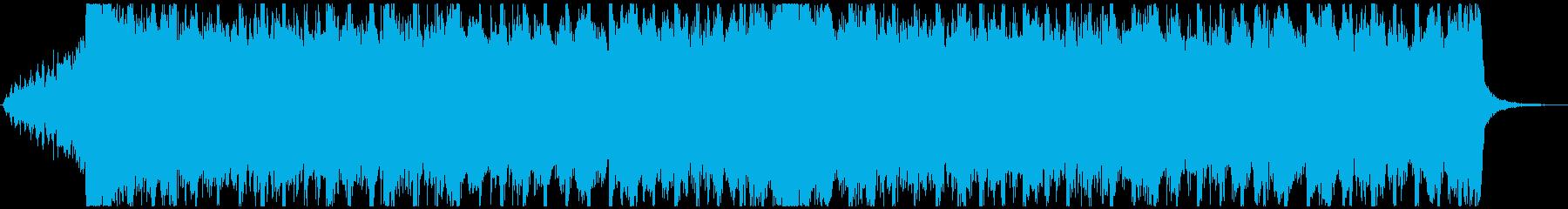 企業VP向け、爽やか4つ打ちポップ30秒の再生済みの波形
