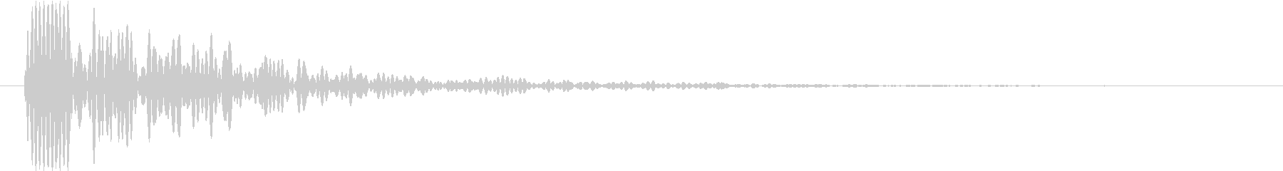 Knife 三徳包丁 トン 単発 2の未再生の波形