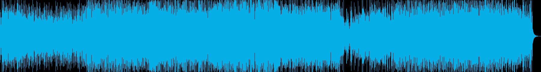 フルートといっぱいの打楽器・サンバ調の再生済みの波形