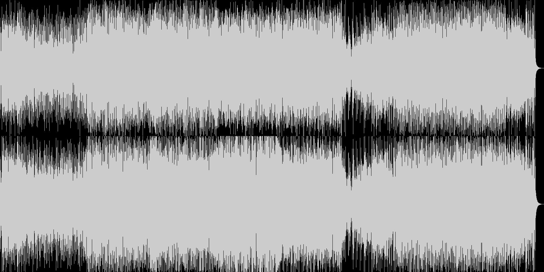 フルートといっぱいの打楽器・サンバ調の未再生の波形