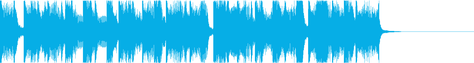 Pop/Houseの再生済みの波形