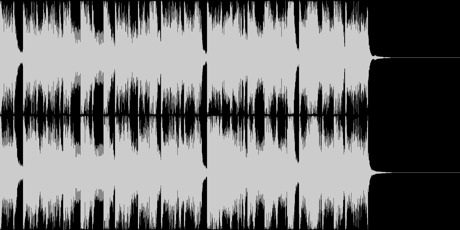Pop/Houseの未再生の波形