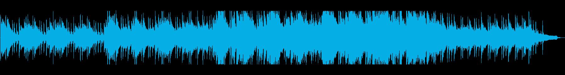 落ち着きのある懐かしいバラードの再生済みの波形